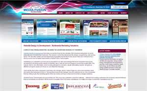 Website Design and Development Company  Media Fusion Technologies  Launches Its Own New Website