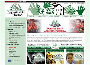 Media Fusion Technologies Donates New Dynamic Website to Opportunity House