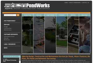 PondWorks Launches New Website through Media Fusion Technologies