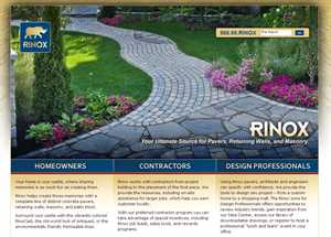 Rinox Pavers Launches New Web Site Through MFT