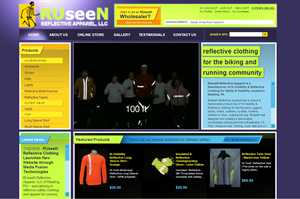 RUseeN Reflective Clothing Launches New Website through Media Fusion Technologies