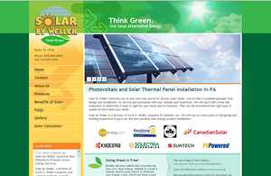 Solar by Weller Launches New Website to Promote Green Energy Services