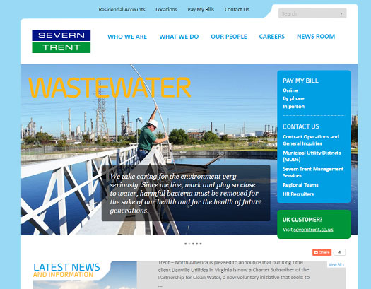 Severn Trent Content Management System